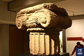 Archaeological Museum in Cordoba, which has a large number of Iberian, Roman and Muslim sculptures.