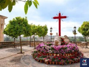Cruces de Mayo en Córdoba Hermandad Santo Sepulcro
