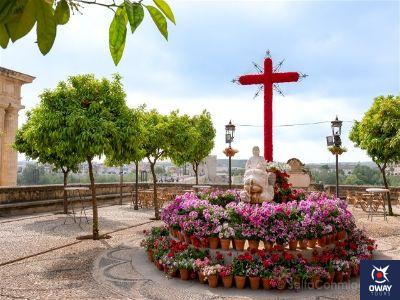 Cruces de Mayo en Cordoba-Hermandad Santo Sepulcro