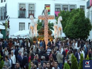 Cruz mayo barrio Santa Marina Córdoba