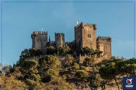 Vista de las torres del Castillo de Almodóvar