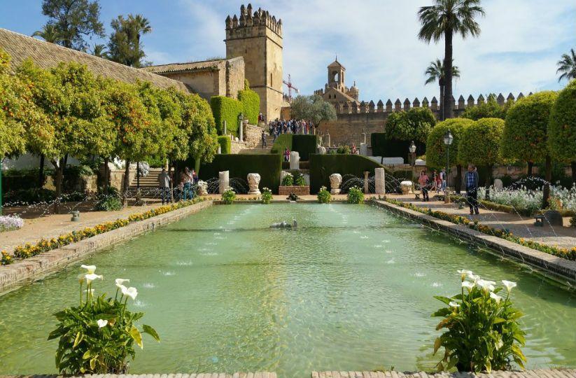 Partes del Alcázar