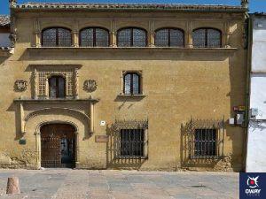 Fachada museo bellas artes Córdoba