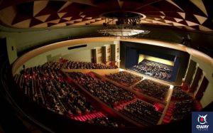 Escenario del Teatro de la Maestranza de Sevilla