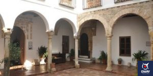 Patio of the Casa de las cabezas of Cordoba