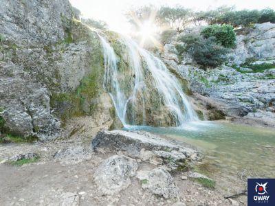 Imagen de una cascada