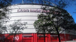 Nervión. Ramón Sánchez-Pizjuán Stadium of Sevilla Fútbol Club.