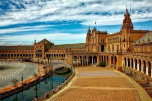 Downtown/ historical center of Seville
