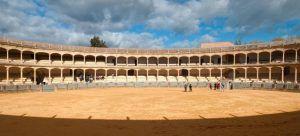 Bullring in the Barrio Nuevo of Ronda