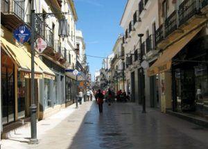 Espinel street in the Barrio Nuevo of Ronda