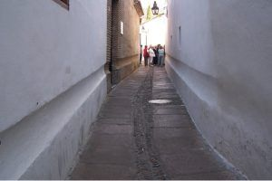 Street in the Jewish quarter of Córdoba