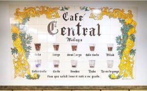 Cafe central Malaga