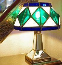 Lámparas granadinas. Lámpara realizada por artesanía