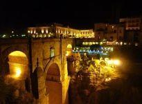 Puente Nuevo por la noche