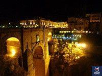 puente nuevo ronda de noche