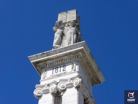 como llegar al monumento a las cortes de cadiz
