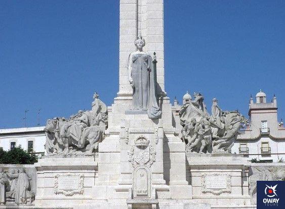 curiosidades sobre el monumento a las cortes de cadiz