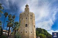 epoca musulmana torre del oro