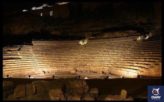 historia del teatro romano de malaga