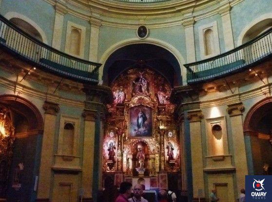 horarios para visitar el oratorio de san felipe neri