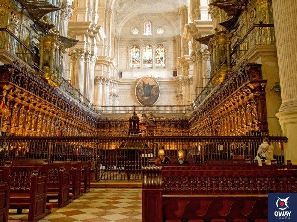 interior de la catedral de malaga