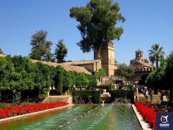 los jardines del alcazar de los reyes cristianos