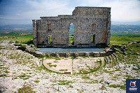 ruinas del teatro romano de acinipo ronda