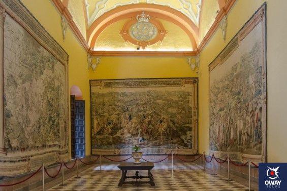palacio gotico real alcazar de sevilla
