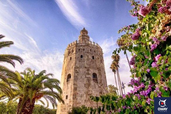 partes de la torre del oro