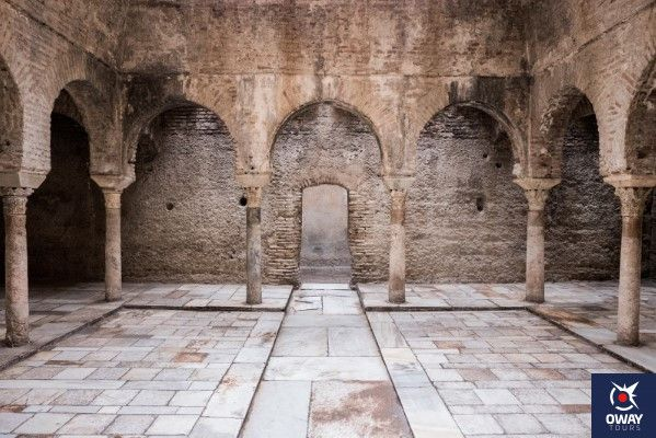 sala central del bañuelo