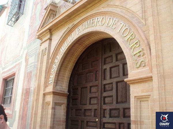 salas y organizacion del museo julio romero