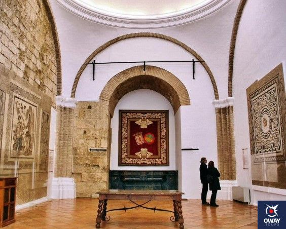 salon de los mosaicos del alcazar de los reyes cristianos