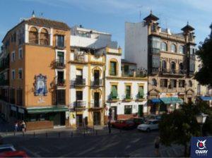 Street in the center of Seville