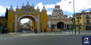 Arch of the Macarena in Seville