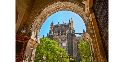 Acceso a la Catedral de Sevilla