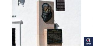 Ernest Hemingway's monument in Ronda
