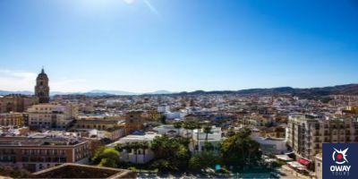 Panoramic view of Malaga
