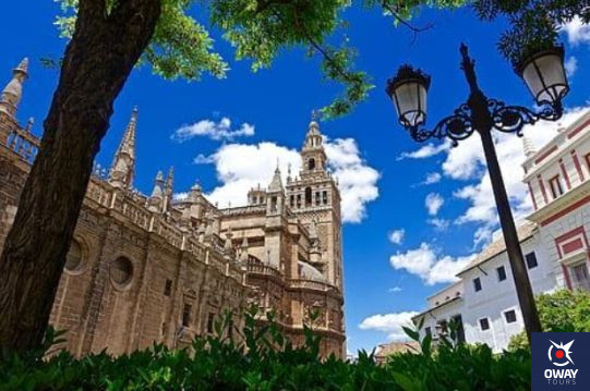 The most important streets of Seville