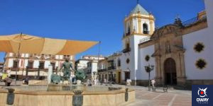Socorro square in Ronda