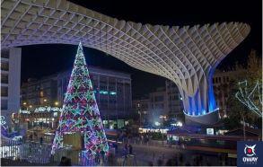 Setas de Sevilla en Navidad