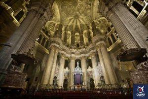 Malaga's Cathedral in Malaga