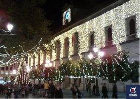 Seville city council at Christmas