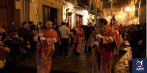 Acolytes in the Granada procession