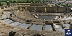 Roman Theater of Itálica in Seville