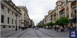 Avenida de la Constitución en Sevilla