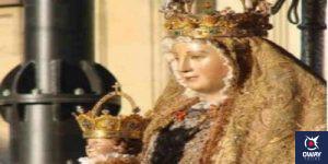 Rostro de la Virgen de los Reyes en Sevilla