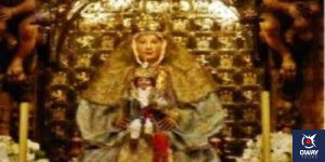 Beautiful picture of the Virgin of the Kings Seville