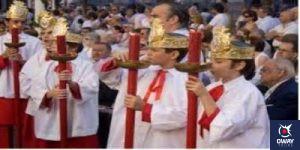Niños carráncanos en la procesión de Sevilla