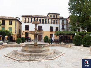 Paseo de los Tristes' Fountain