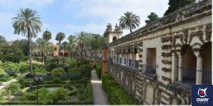 Garden of the Real Alcázar of Seville